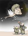 Cartoon: Yuriy Kosobukin (small) by Shahid Atiq tagged 0162