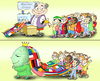 Cartoon: Master Crisis (small) by gonopolsky tagged crisis,unity,children,nations