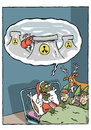 Cartoon: Christmas (small) by alves tagged nature
