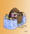 Cartoon: Egg Sofa (small) by llobet tagged chocolate,cake,wisky,sofa,egg,easter