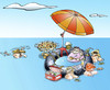 Cartoon: Sea Paella (small) by llobet tagged paella sea girls food cuisine