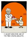 Cartoon: forbidden addiction (small) by sardonic salad tagged fried,chicken,colonel,sanders,cartoon,comic,sardonic,salad