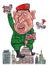 Cartoon: Hugo Chavez (small) by beto cartuns tagged chavez venezuela autoritarism