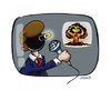 Cartoon: Bombastic News (small) by stewie tagged bom,news,tv