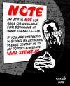 Cartoon: IMPORTANT NOTE (small) by stewie tagged important,note