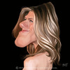 Cartoon: Jennifer Aniston (small) by jmborot tagged jennifer,aniston,friends,caricature,jmborot