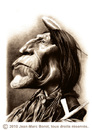 Cartoon: Wolf Robe (small) by jmborot tagged wolf robe cheyenne native amrican caricature jmborot
