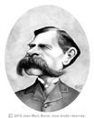 Cartoon: Wyatt Earp (small) by jmborot tagged tomstone,ok,corral,earp,caricature,jmborot