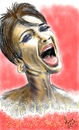 Cartoon: diva shirley bassey (small) by loboloco tagged diva,shirley,bassey