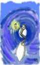 Cartoon: light at the end of the tunnel (small) by loboloco tagged tunnel,surf,light