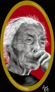 Cartoon: old woman from Braganca Portugal (small) by loboloco tagged old,woman,people