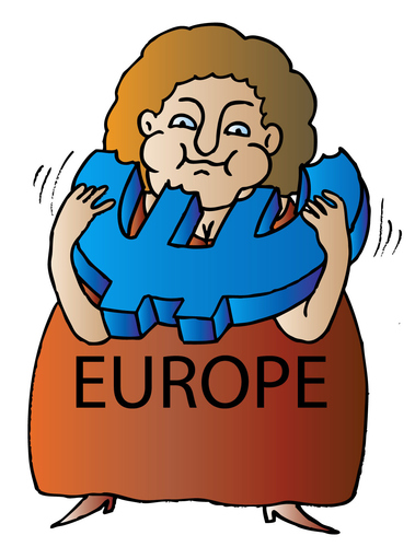 Cartoon: Europe (medium) by Alexei Talimonov tagged europe
