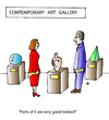 Cartoon: Art (small) by Alexei Talimonov tagged contemporary,art,gallery