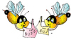 Cartoon: Bizz - Buzz (small) by Alexei Talimonov tagged bizz,buzz