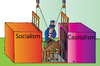 Cartoon: Capitalism (small) by Alexei Talimonov tagged capitalism,socialism,russia