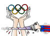Cartoon: Olympic Games (small) by Alexei Talimonov tagged olympic,games