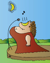 Cartoon: Singer (small) by Alexei Talimonov tagged singer,music