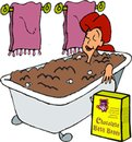 Cartoon: bath (small) by sa tagged crazy