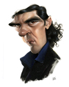 Cartoon: Antonio Banderas (small) by achille tagged antonio banderas