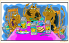 Cartoon: Cowtoons (small) by Cartoons and Illustrations by Jim McDermott tagged cows,animals,farmer