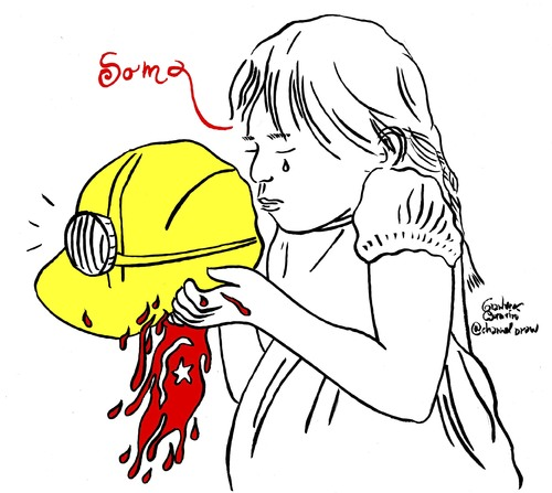 Cartoon: Soma (medium) by Political Comics tagged soma,turkey