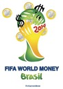 Cartoon: Fifa World Money (small) by Political Comics tagged football,fifa,brazil,worldcup,2014,brasil,occupybrazil