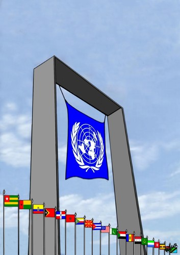 Cartoon: UN-2 (medium) by ugur demir tagged mm