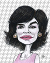 Cartoon: Icon lady  Jacky O (small) by jean gouders cartoons tagged jacky,jacqueline,kennedy,onassis,jean,gouders