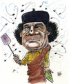 Khadaffi fights back.