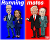 Cartoon: Running mates (small) by jean gouders cartoons tagged biden,kamala,harris,trum,elcetions,usa
