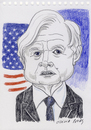 Cartoon: Ted Kennedy (small) by Otilia Bors tagged ted,kennedy