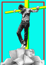 Cartoon: James Dean (small) by srba tagged james,dean,actors,giant,movie
