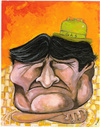 Cartoon: Evo Morales again (small) by dimaz_restivo tagged evo morales