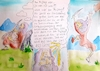 Cartoon: Am Anfang... (small) by 10e tagged bibel,johannes
