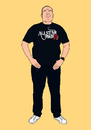 Cartoon: Vince. (small) by bernieblac tagged cartoon