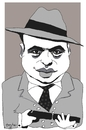 Cartoon: Al Capone (small) by Bravemaina tagged capone