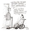 Cartoon: Sutter u. Mohn (small) by Christian BOB Born tagged geburt,mutter,sohn,behindert,streit,blut,blöd