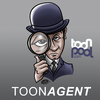 Cartoon: toonagent icon (small) by elle62 tagged toonagent