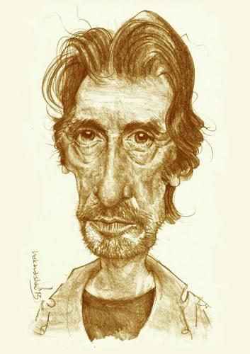 Cartoon: Al PACINO (medium) by hakanarslan tagged hakanarslan,alpacino