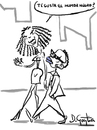 Cartoon: humor negro (small) by David Goytia tagged humor,chiste,pregunta