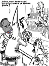Cartoon: semana santa (small) by David Goytia tagged racismo,semana,santa,equivoco