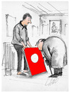 Cartoon: Art Critic (small) by LAINO tagged art,critic