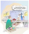 Cartoon: Fresh Meat (small) by LAINO tagged fresh,meat
