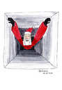 Cartoon: Santa Claustrophobia (small) by Blogrovic tagged xmas,weihnachten,santa,weihnachtsmann,calustrophobia,klaustrophobie,kamin,chimney