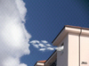 Cartoon: cloud face 19 (small) by besscartoon tagged wolken,himmel,gesicht,cloud,face,haus,bess,besscartoon