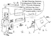 Cartoon: Einfaches Leben (small) by besscartoon tagged camping,zelt,wonnmobil,luxus,angeber,neid,bess,besscartoon