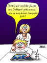 Cartoon: Gute Frage (small) by besscartoon tagged mutter,kind,familie,computer,internet,tablet,pc,technik,bess,besscartoon