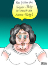 Cartoon: so ändern sich die Zeiten (small) by besscartoon tagged frau,botox,tupperware,party,schönheit,bess,besscartoon