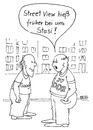 Cartoon: Street View (small) by besscartoon tagged männer,ddr,google,streetview,computer,stasi,bess,besscartoon