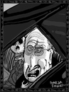 Cartoon: Old Friends (small) by Dunlap-Shohl tagged dance,of,death,cheney,old,friends